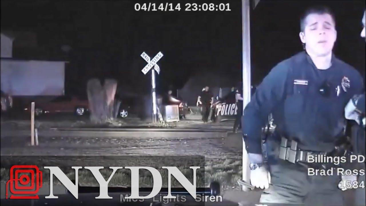 Dashcam Video Captures Moment Cop Breaks Down Cries After