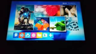 Android tv box mini m8s test en français