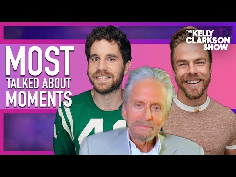 Most Talked About Moments   Derek Hough, Michael Douglas, Ben Platt