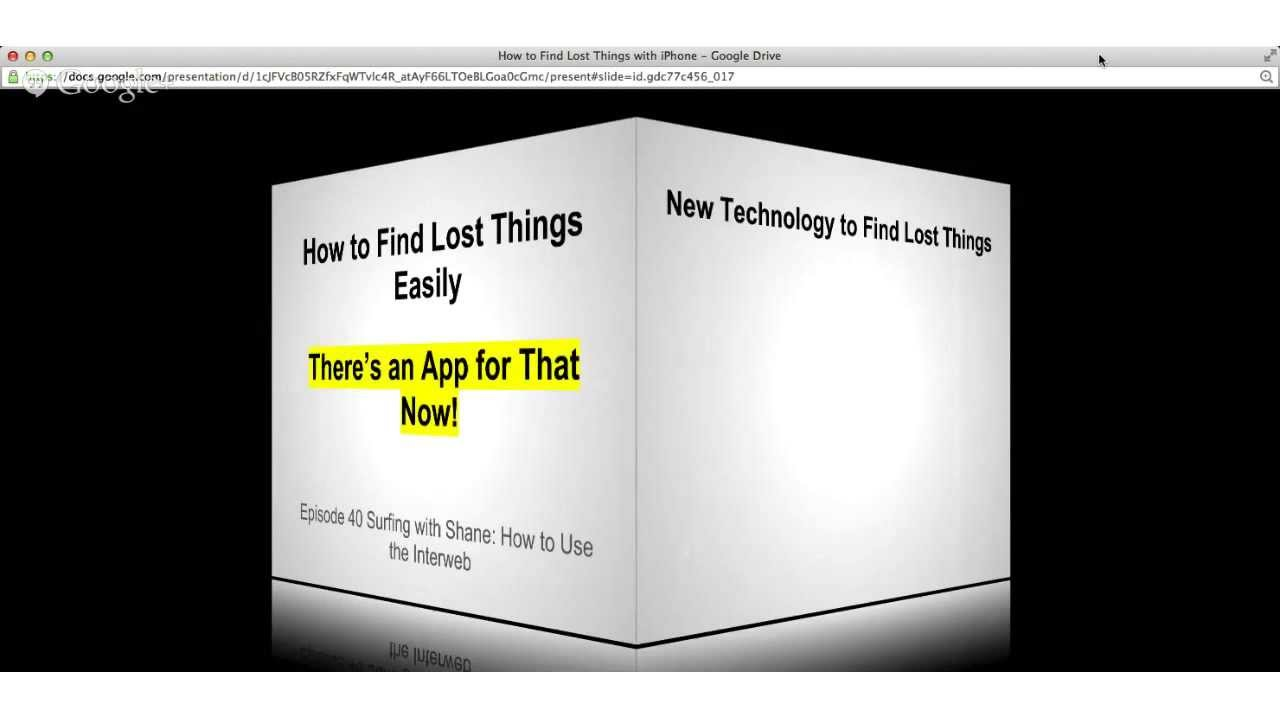 how to find lost things easily with iphone youtube. Black Bedroom Furniture Sets. Home Design Ideas