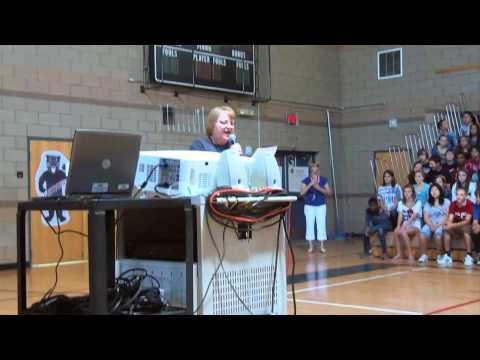 Gabriella van Rij - Kyrene Altadena Middle School, Phoenix AZ, April 27, 2012