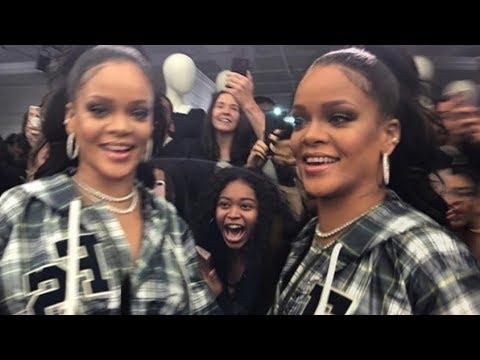 Rihanna hosts SUPER LIT FentyxPuma event for her fans | She dances to Cardi B!
