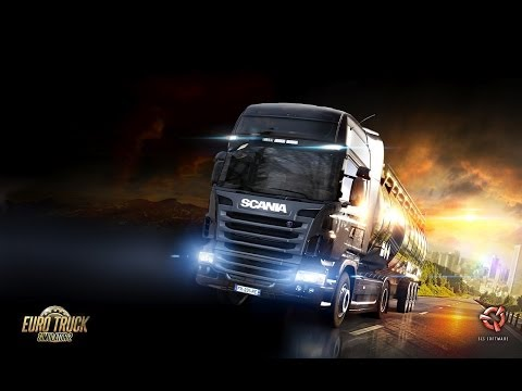 Euro Truck Simulator 2 - Delivering Food from Edinburgh to Rotterdam