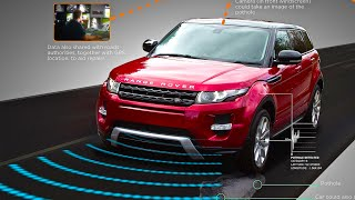 "Range Rover ""Pothole Alert"" Car2Car Communication Range Rover Self Driving Car 2015 CARJAM TV HD"