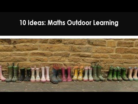 EYFS Outdoor Maths Activities
