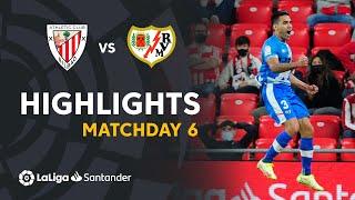 Resumen de Athletic Club vs Rayo Vallecano (1-2)