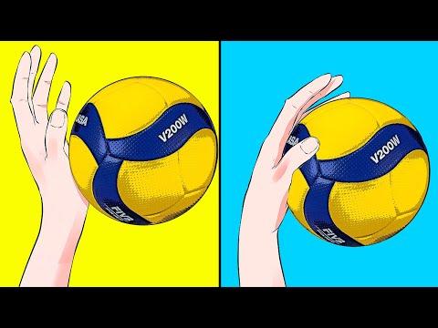 Как научиться гасить в волейболе