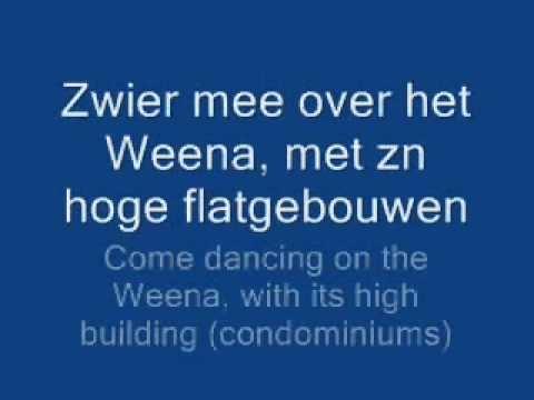 Rotterdam, mooiste rotstad met songtekst + engelse vertaling