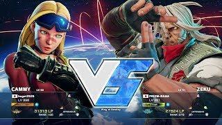 Kazunoko (Cammy) vs Majorboy (Zeku):かずのこ(キャミィ)vs メジャーボーイ(是空) thumbnail