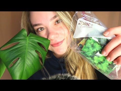 ASMR Plant LOVE! 🌱💚 Crinkle Seed Packet Sounds, Whispers