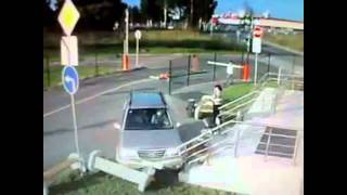 Women Driving Fail Compilation [[OneShotFails]]