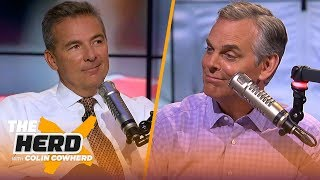 Urban Meyer: Haskins 'will be the face of a franchise', talks Nick Bosa & CFB show on FOX | THE HERD