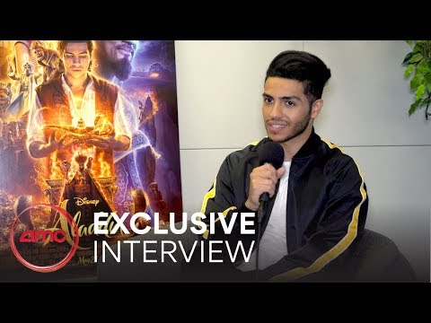 ALADDIN  - Interview (Mena Massoud) |