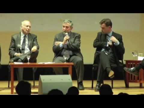 8 Sept 2009 - 8 of 9 - George Soros,  Paul Krugman, Nouriel Roubini - Economic Crisis - PEN.flv