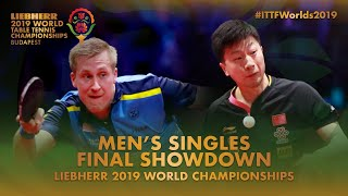 Ma Long vs Mattias Falck   Final Showdown   2019 World Table Tennis Championships