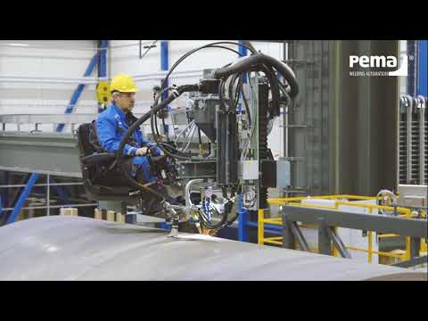 WIND ENERGY ¦ PEMA welding and production automation systems for wind energy