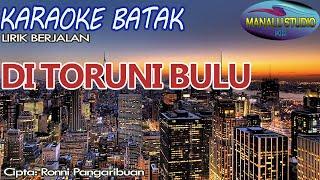 DI TORUNI BULU - KARAOKE BATAK -VERSI DBELSING TRIO