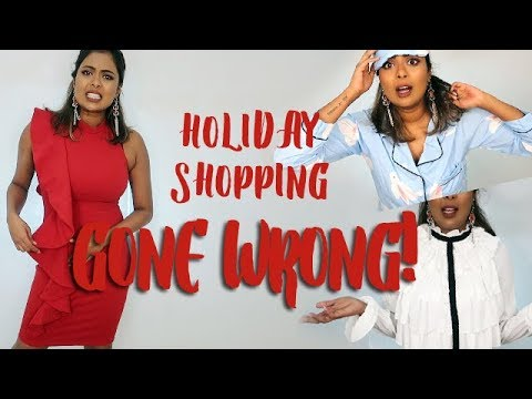 1a44d51601 Holiday Dress Shopping Gone WRONG!! SHEIN Try-On Haul & Review - YouTube