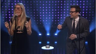 Watch Gwyneth Paltrow get soaked in a game of 'Slay It, Don't Spray It' with Jimmy Fallon