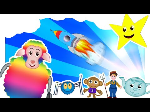 THE BEST CHILDREN'S NURSERY RHYMES | 46 MINS LONG: Nursery Rhymes Playlist