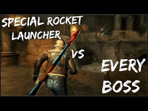 Killing ALL Bosses with the SPECIAL ROCKET LAUNCHER | Resident Evil 4 UHD