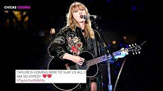 TAYLOR SWIFT INAUGURARÁ los PREMIOS AMERICAN MUSIC AWARDS 2018