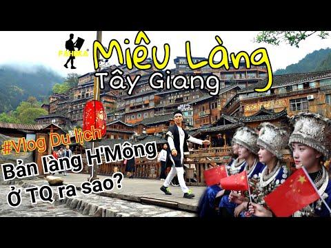Ngất ngây trước cảnh đẹp và sự giàu có của bản làng vùng cao Trung Quốc