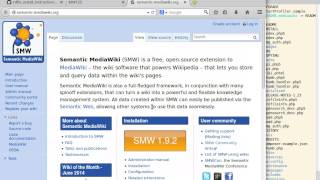 Installing Semantic MediaWIki with the RDFIO extension on Xubuntu 14 04