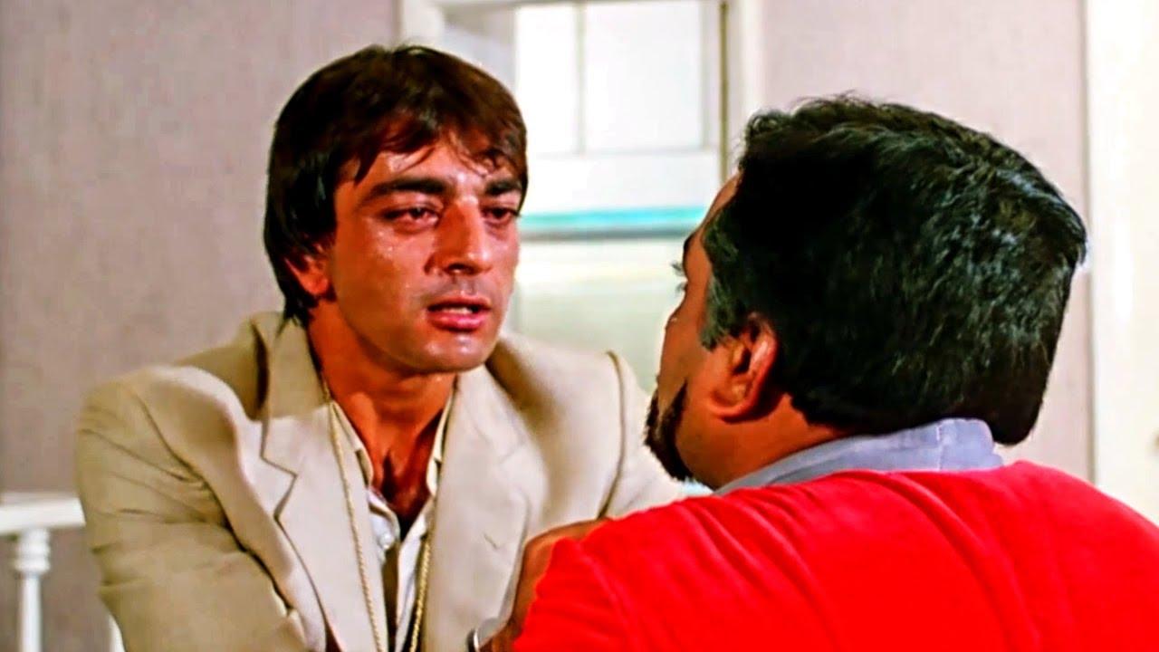 संजय दत्त ने कितनी बेहरेहमी से परेश रावल को मार दिया | नाम मूवी का बेस्ट सीन