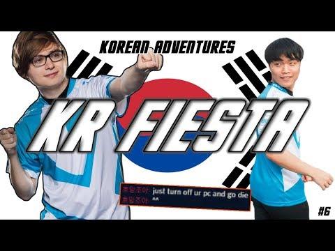 C9 Sneaky's 2017 Korean Adventures: KR Fiesta (Sneaky gets One-Shot & Duo with Impact)