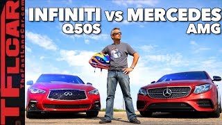 A Surprising Result for Two Fast Cars (Infiniti Q50S vs E43 AMG)
