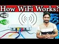 How Does Wi-Fi work? Wifi Working Principles? The WiFi Magic Detail Explaine!