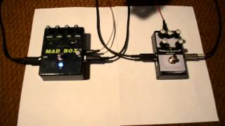 MAD BOX electronics Black master CAB + DISTORTION
