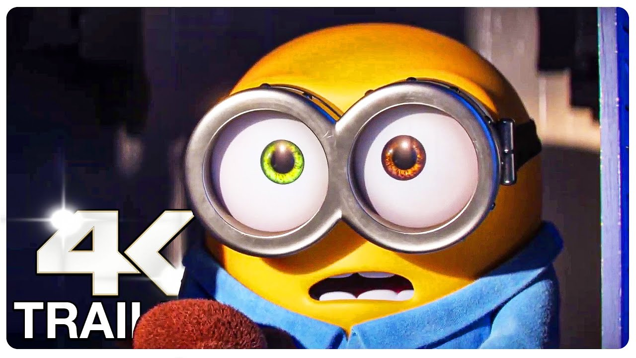Download MINIONS 2 THE RISE OF GRU : 4 Minute Trailers (4K ULTRA HD) NEW 2022