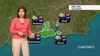 Previsão Grande Rio – Chuva continua