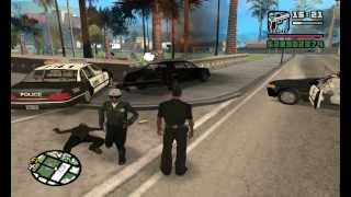 Repeat youtube video Como ser policia en GTA San Andreas sin mods
