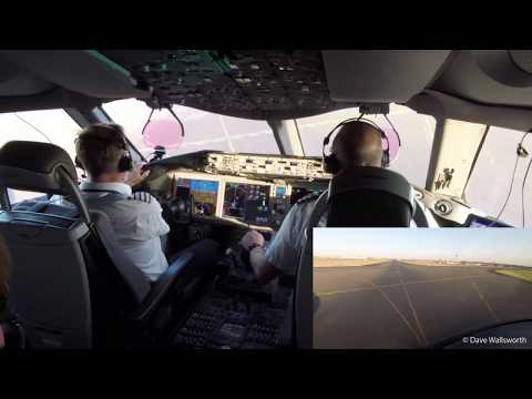 British Airways - First 787 service landing in Johannesburg: A pilot's perspective