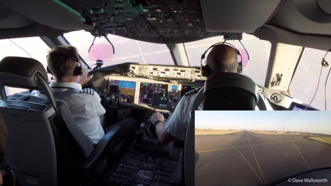 Video First British Airways Boeing 787 Service Landing In Johannesburg A Pilot S Perspective World Airline News