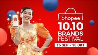 Shopee 10.10 Brands Festival | Cetar Membahana dari Shopee