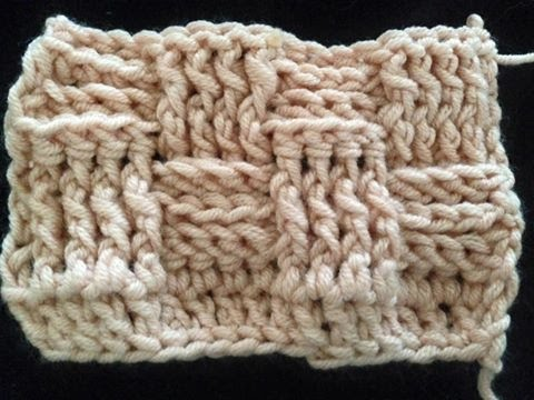 Mandensteek Haken Van By Mom Kim Crochet Basketweave Stitch Youtube