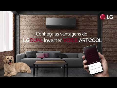 Ar-Condicionado LG Dual Inverter Voice