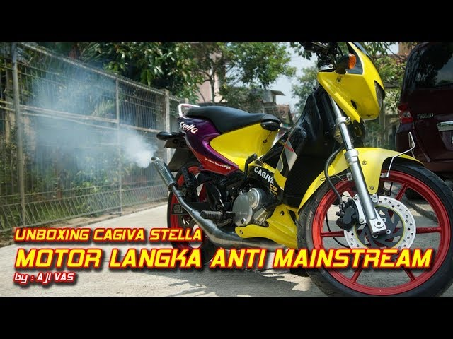 Motor Balap Kawinan Italy dan Thailand Cagiva Stella || Aji VAS