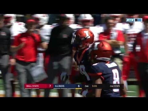 Louis Dorsey #BTNStandout Catch vs. Ball State