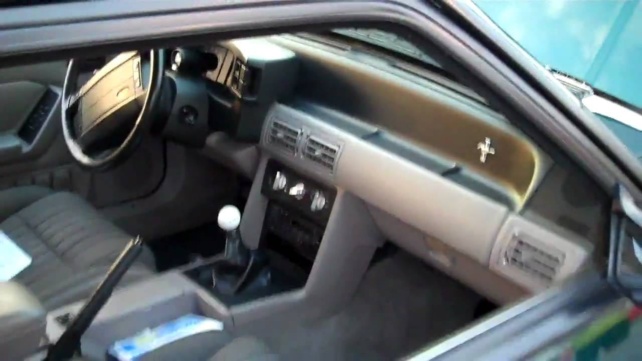1992 Mustang 50 LX Coupe  YouTube