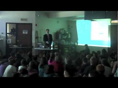 Matt Meister Visits La Junta Intermediate School