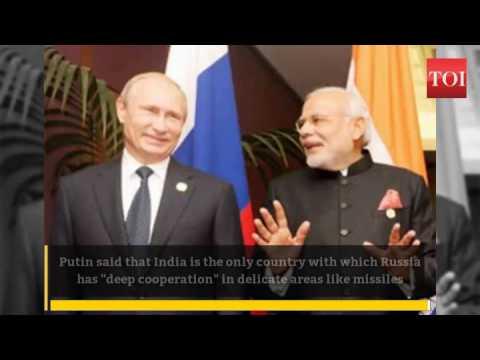 Vladimir Putin: Russia's trust-based ties with India will not be diluted: Vladimir Putin