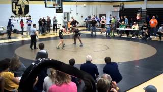 Justin Brown Ocoee Middle school wrestling team