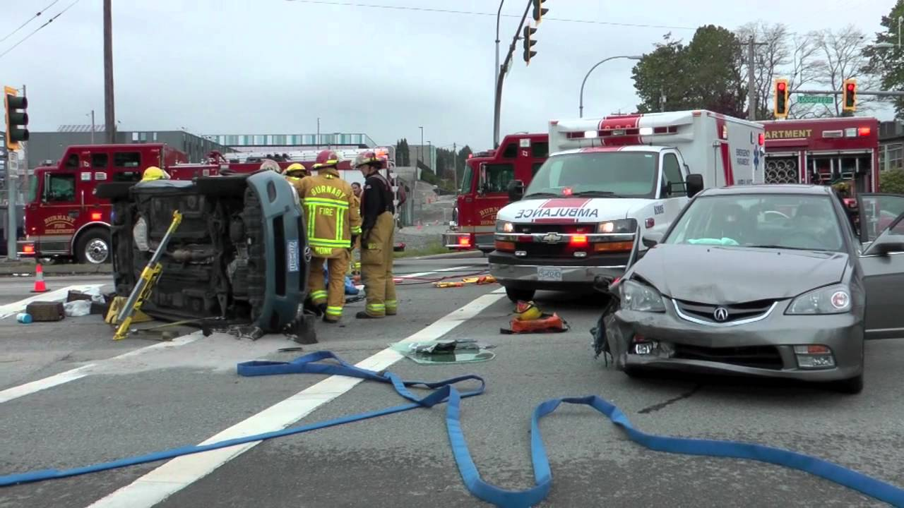 Car Crash Burnaby