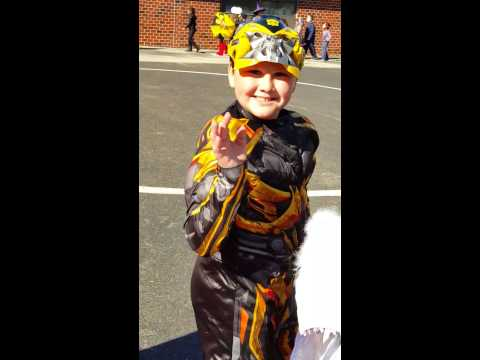 Halloween parade 4th grade kresson school