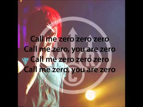 Gerard Way - Zero Zero (First version) lyrics